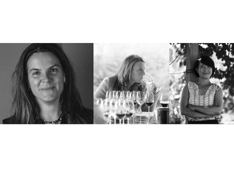 Vinitaly International: Cathy Huyge, Gina Gallo, Emma Gao