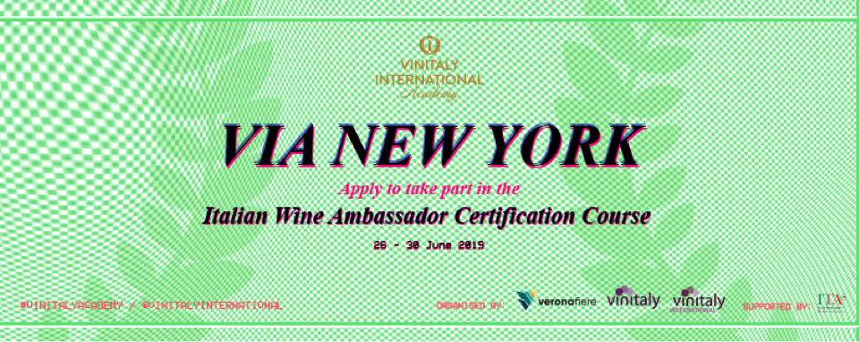 Vinitaly International Academy New York, June 2019