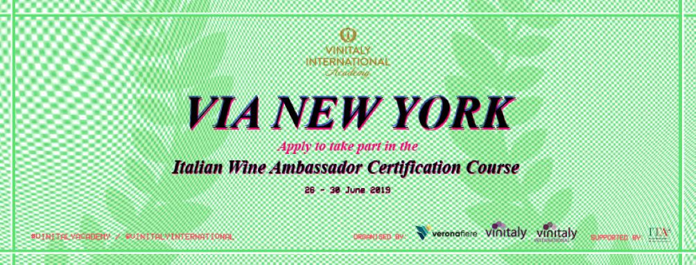 Vinitaly International Academy New York, June 2019