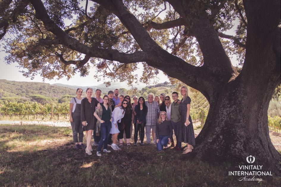 VIA Italian Wine Ambassadors and Experts at Bolgheri